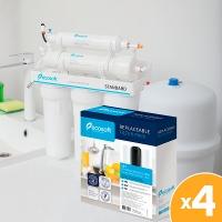 Ecosoft для фильтра обратного осмоса Standard (без минерализатора)