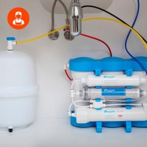Дезинфекция питьевого фильтра и бака