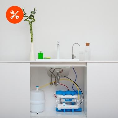 Подвод воды из фильтра к бытовой технике